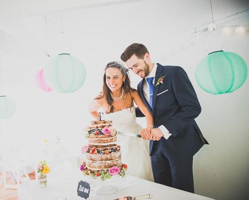 Polka Dot Colour Pop: Laura + Alan's Millhouse Wedding by Niamh of OneFabDay.com